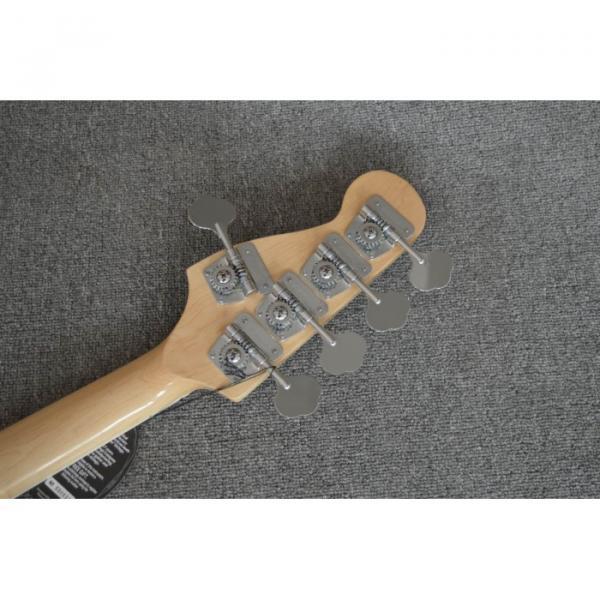 Custom 5 Strings Fender Natural Marcus Miller Signature Jazz Bass