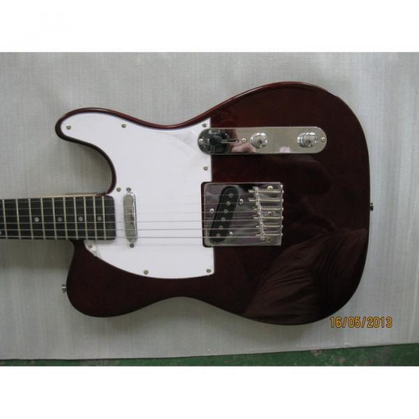 Fender Telecaster Dark Brown Custom Electric Guitar