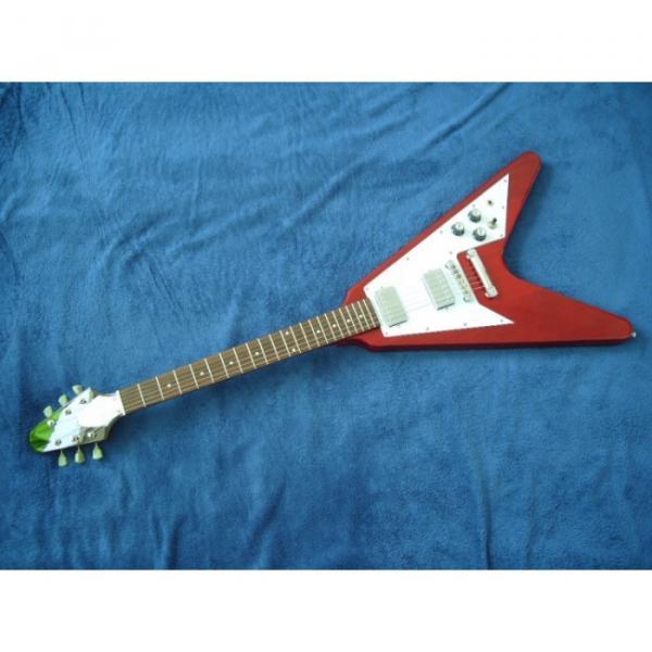 Custom Tokai Red Flying V Electric Guitar