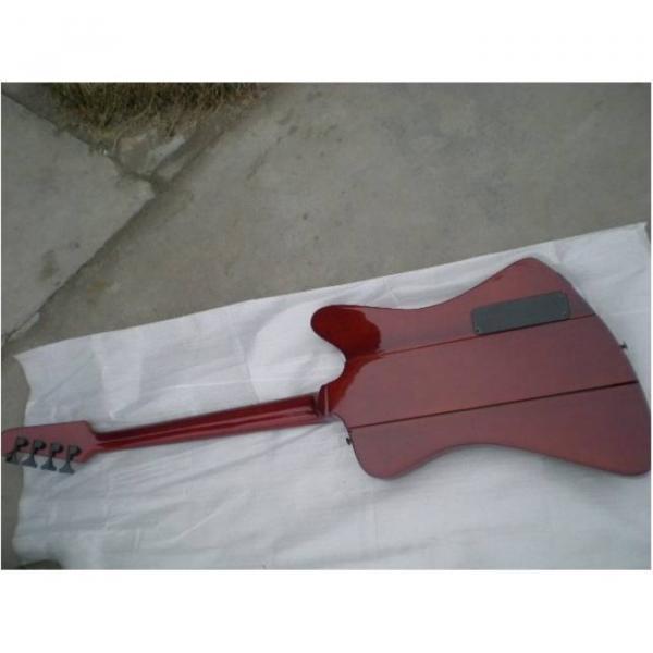 Custom Shop Tiger Maple Brown Firebird Electric Guitar