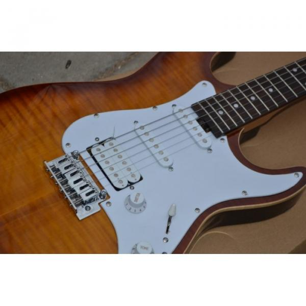 Custom Shop Suhr Pro Series Root Beer Stain Maple Top Electric Guitar