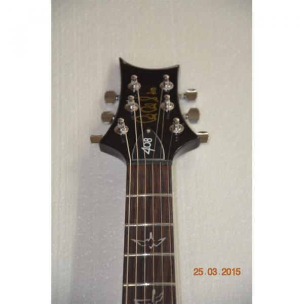 Custom Shop Silver Burst Tiger Maple Top PRS Electric Guitar