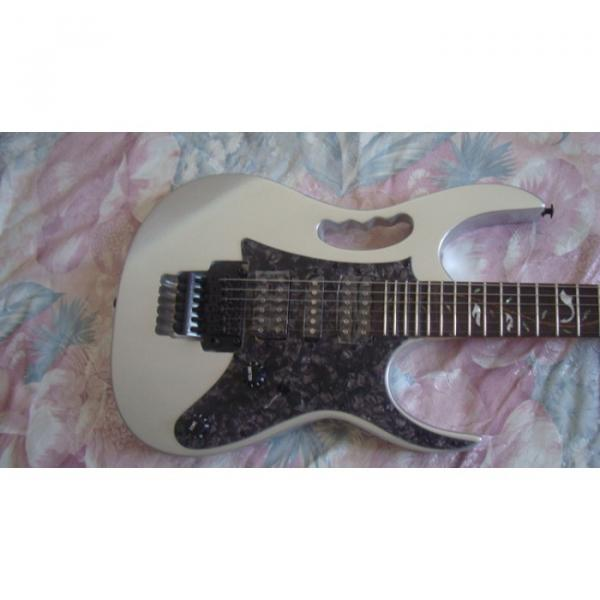 Custom Shop Silver Ibanez Electric Guitar