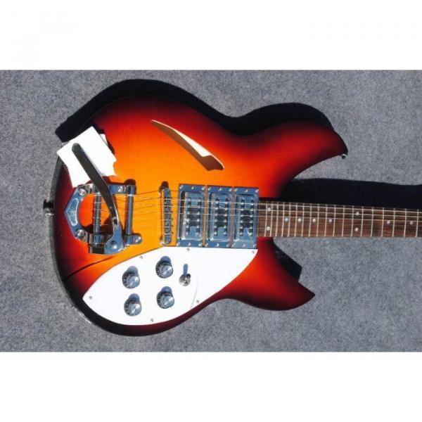 Custom Shop Rickenbacker Dark Tobacco 380 Electric Guitar