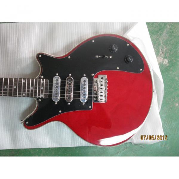 Custom Shop Red Brian May Electric Guitar