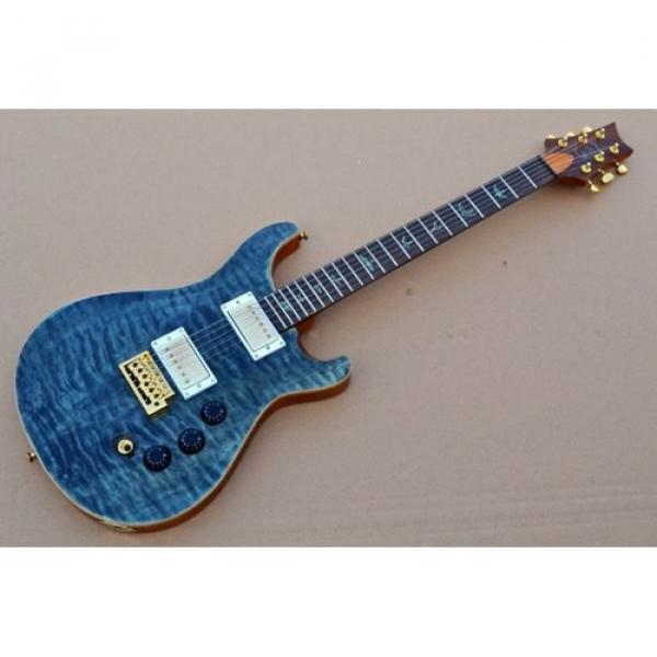 Custom Shop PRS Quilt Flame Electric Guitar