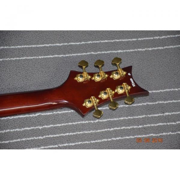 Custom Shop PRS Brown Flame Maple Top 24 Frets Electric Guitar