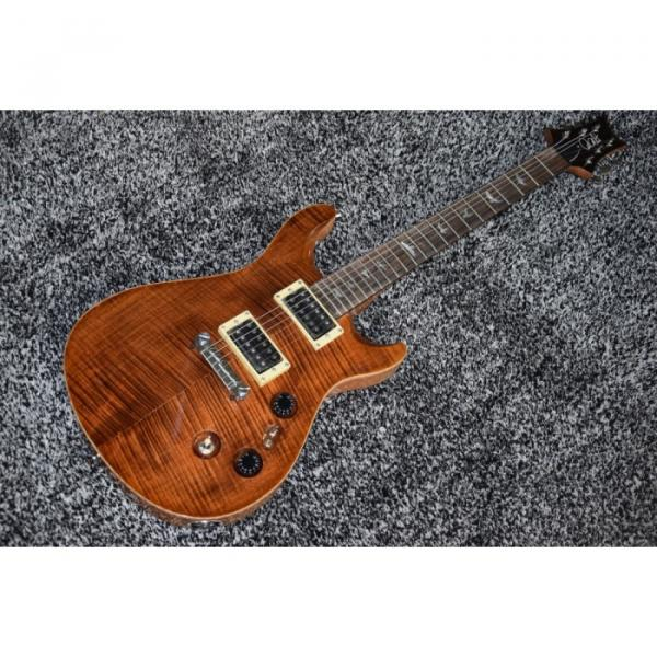 Custom Shop PRS Brown Tiger Maple Finish Electric Guitar