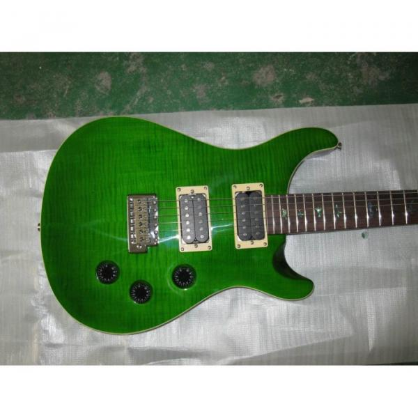 Custom Shop Paul Reed Smith Green Electric Guitar