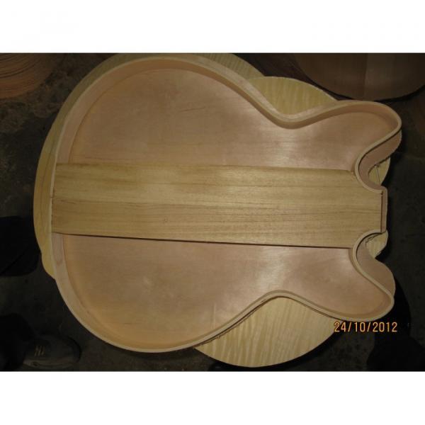 Custom LP Dave Grohl Pelham Blue ES-335 7 String Electric Guitar