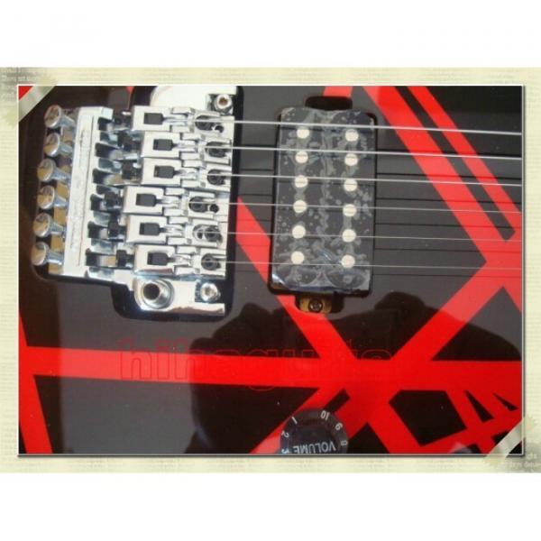Custom Shop Charvel Black Red Electric Guitar