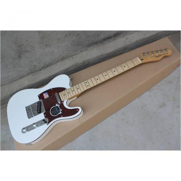 Custom Shop Classic White Telecaster Electric Guitar