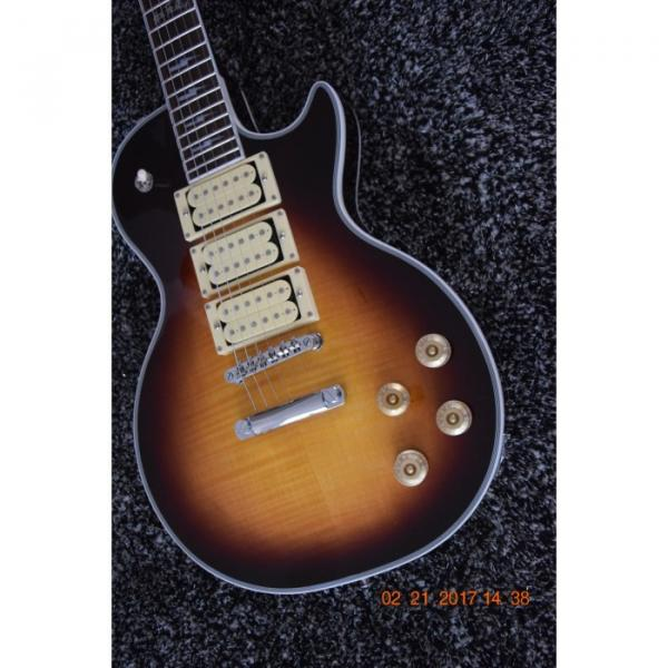 Custom Shop Ace Frehley Tobacco Burst Tiger Maple Top Electric Guitar