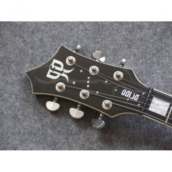 Custom Series TTGC Spalted Maple Top Cream Binding Electric Guitar
