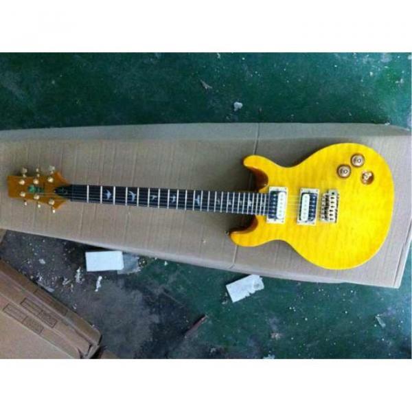 Custom Paul Reed Smith Yellow Electric Guitar