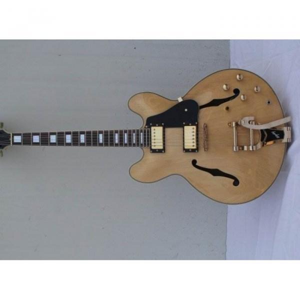 Custom guitarra ES335 Natural Electric Guitar