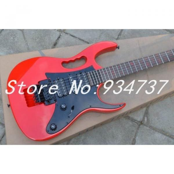 Custom Ibanez Red Steve Vai Jem 7V Electric Guitar