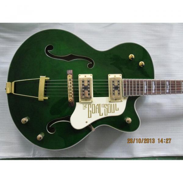 Custom Green Brian Gretsch Nashville Electric Guitar