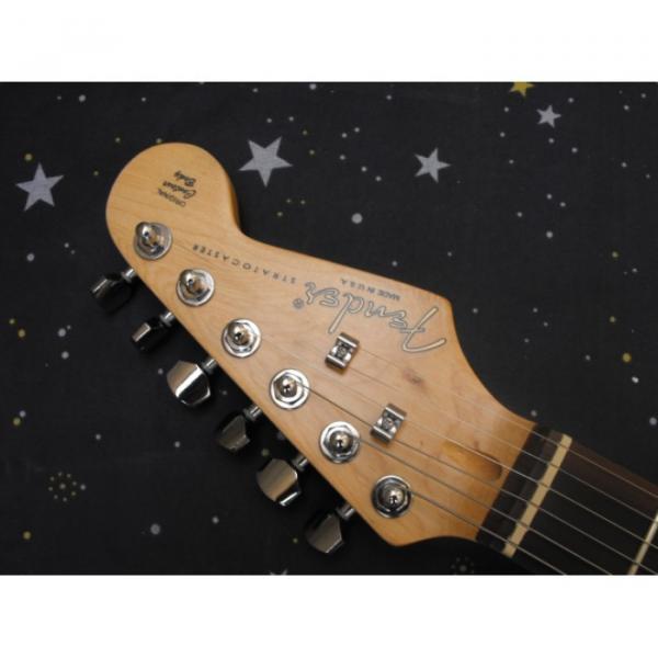 Custom Fender Natural Stratocaster Electric Guitar