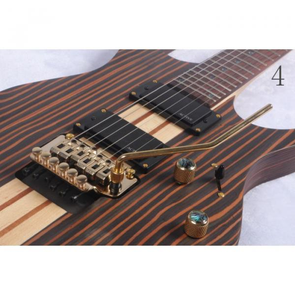 Custom 6 Strings Blazer Zebra Finish Electric Guitar