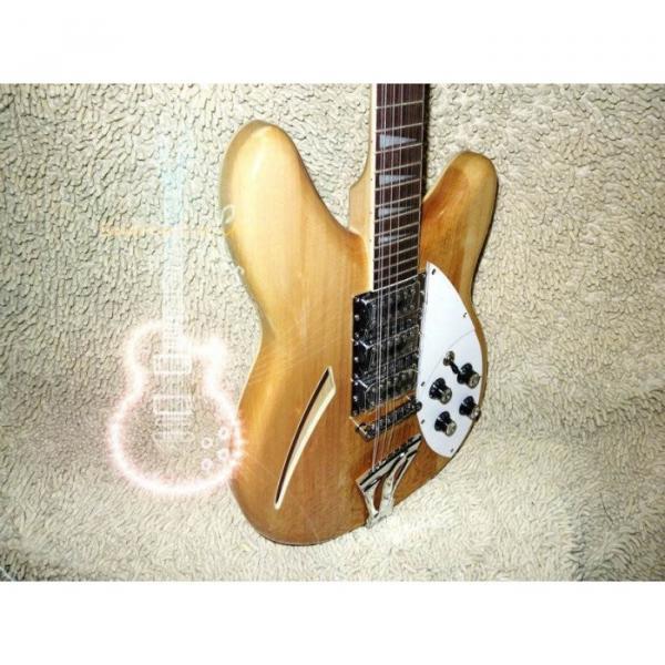 12 Strings Custom 360  3 Pickups Naturalglo Electric Guitar