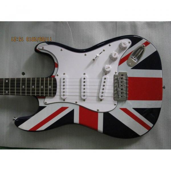 Custom Shop UK Flag Stratocaster Electric Guitar