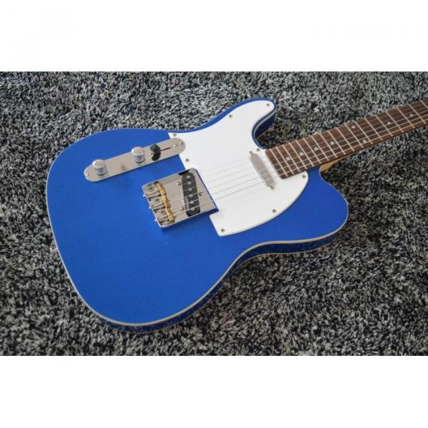 Custom Shop Fender Left Handed Telecaster Blue Electric Guitar