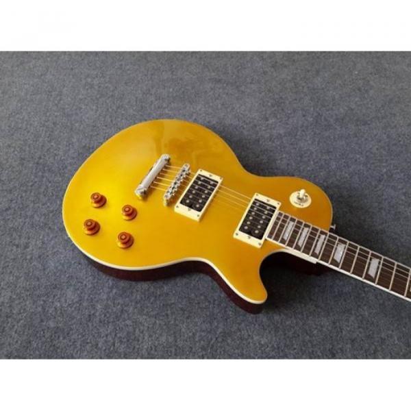 Custom Shop Gold Top Standard  LP Electric Guitar