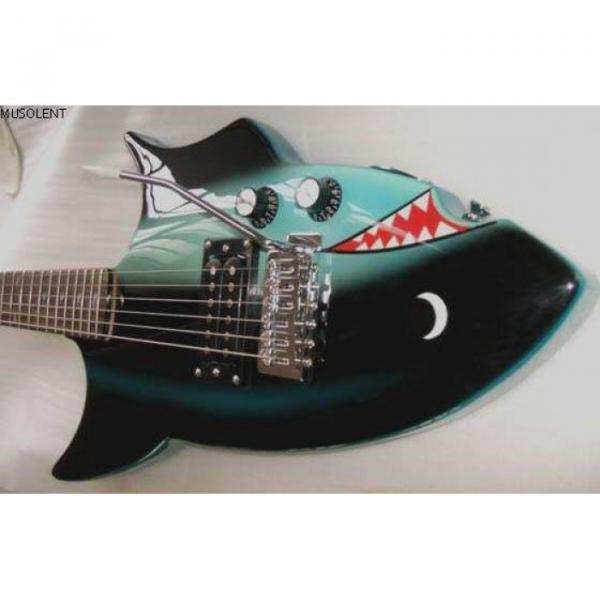 Custom Shop 6 String Shark Fish Electric Guitar