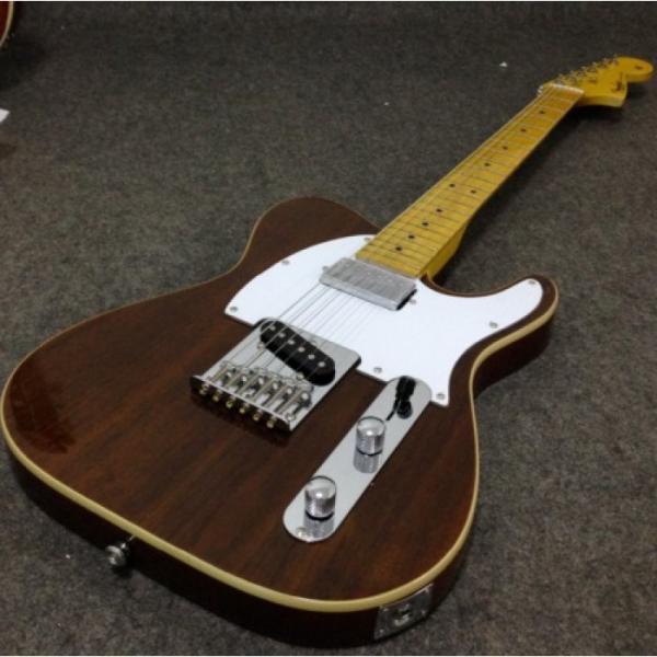 Custom Classic Telecaster Rosewood Body 6 String Electric Guitar