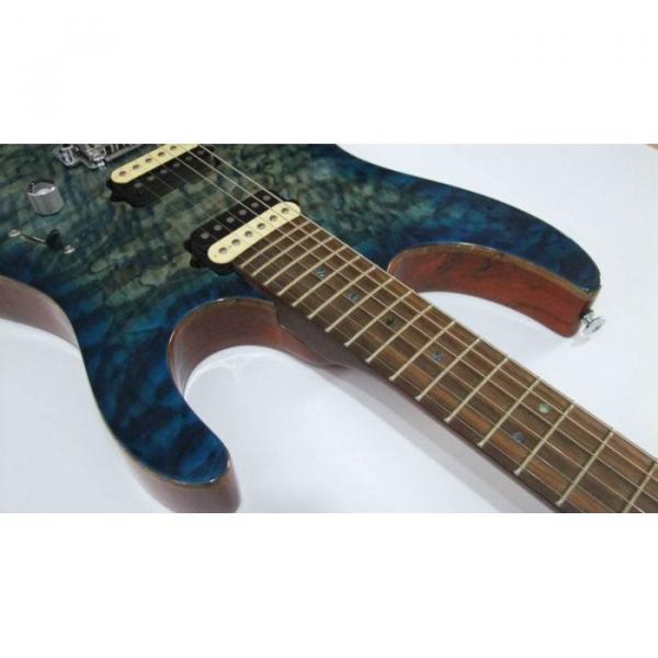 Custom Shop Suhr Flame Maple Top Blue Alder Body Walnut Neck Guitar
