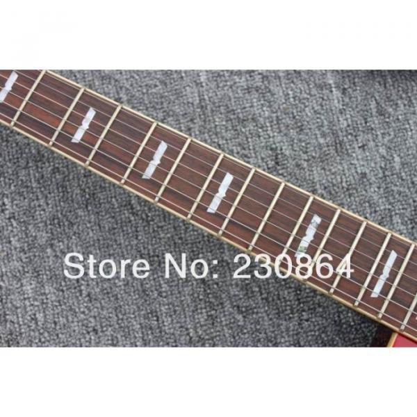 Custom  Washburn Passive Humbuckers Sunburst Guitar