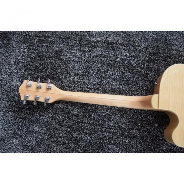 Custom Shop Natural Tiger Maple Top Gretsch Guitar