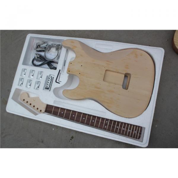 Custom Shop Unfinished Stratocaster Guitar Kit