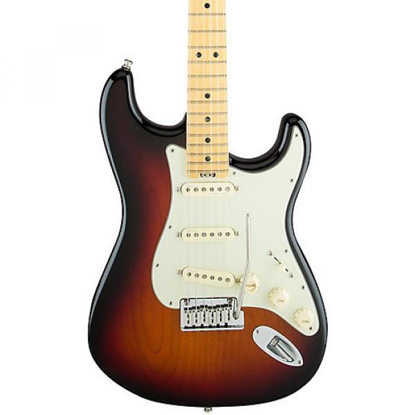 Fender American Elite Maple Stratocaster Electric Guitar 3-Color Sunburst