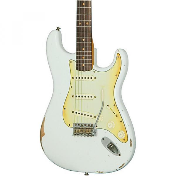 Fender Road Worn '60s Stratocaster Electric Guitar Olympic White