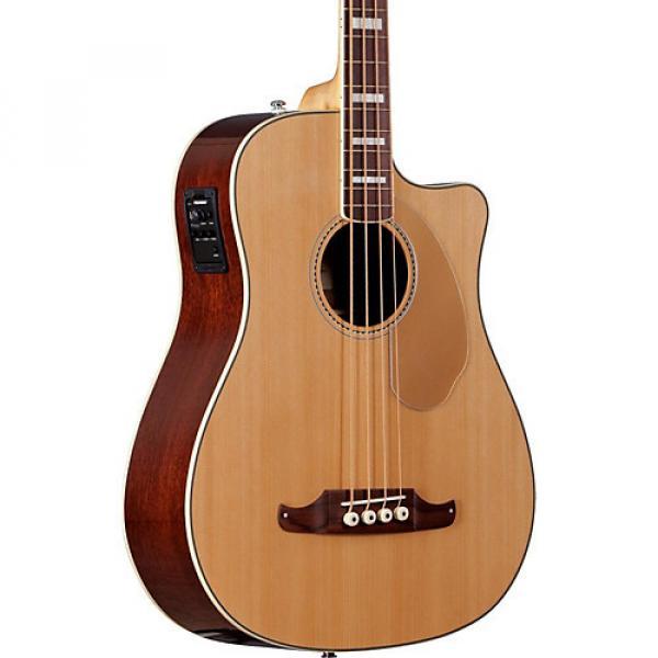 Fender California Series Kingman SCE Cutaway Dreadnought Acoustic-Electric Bass Natural