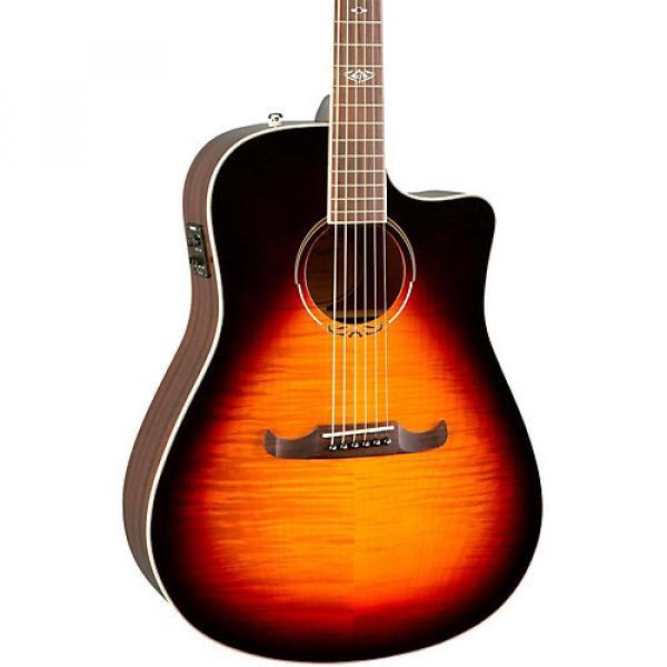 Fender California Series T-Bucket 300CE Cutaway Dreadnought Acoustic-Electric Guitar 3-Color Sunburst