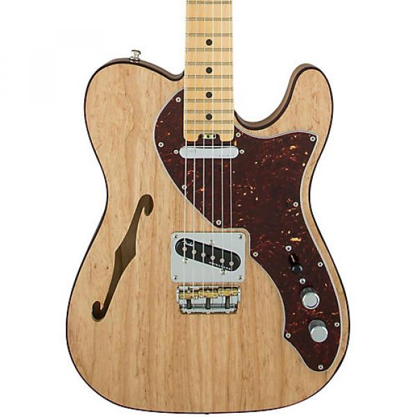 Fender American Elite Telecaster Thinline Maple Fingerboard Electric Guitar Natural