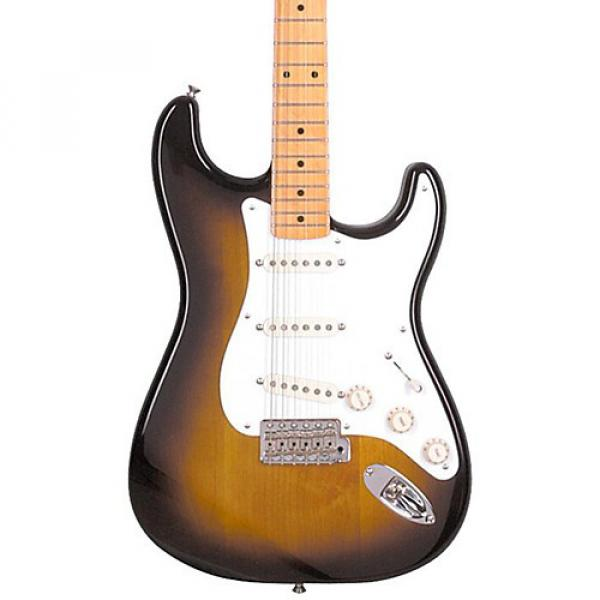 Fender Classic Series '50s Stratocaster Electric Guitar 2-Color Sunburst Maple Fretboard