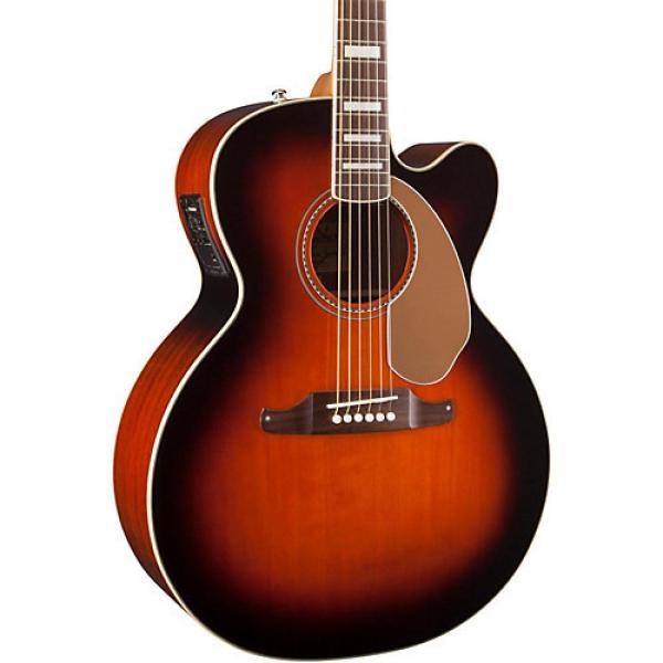 Fender California Series Kingman Jumbo SCE Cutaway Jumbo Acoustic-Elecric Guitar 3-Color Sunburst
