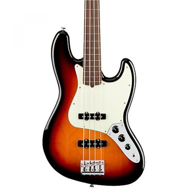 Fender American Professional Fretless Jazz Bass Rosewood Fingerboard 3-Color Sunburst