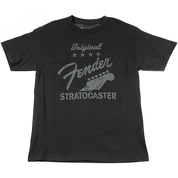 Fender Original Strat T-Shirt, Charcoal Small