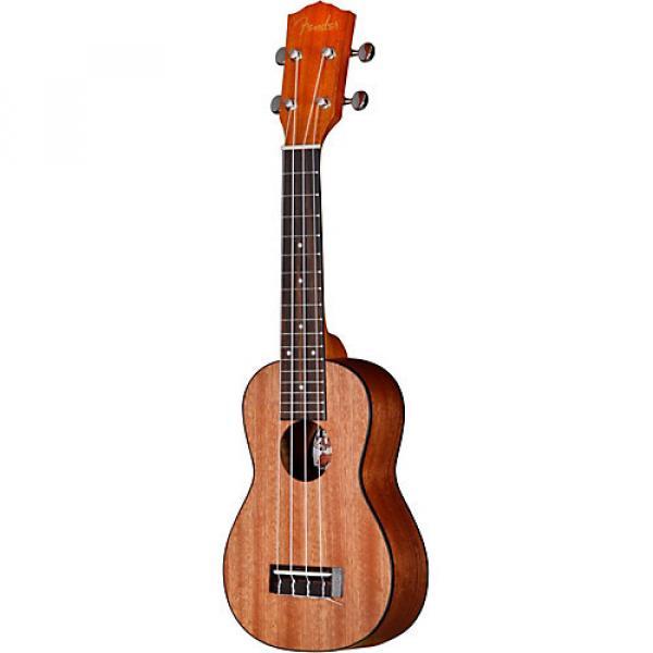 Fender U'Uku Soprano Ukulele Mahogany Top Satin Body Finish