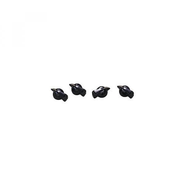 Fender Black Chicken-Head Amplifier Knobs