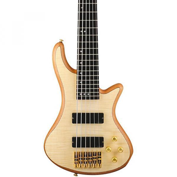 Schecter Guitar Research Stiletto Custom 6 6-String Bass Guitar Satin Natural