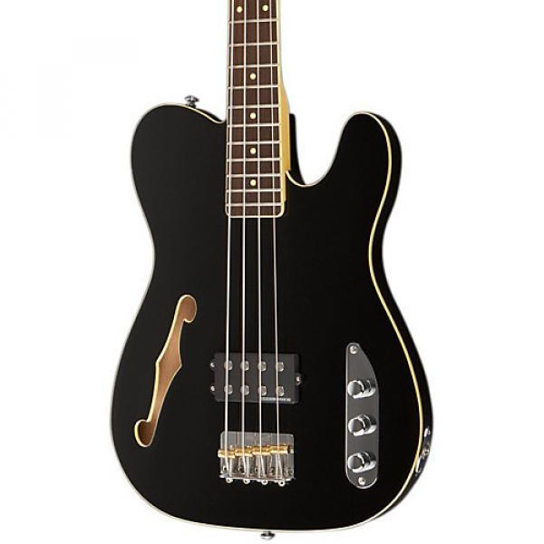 Schecter Guitar Research Baron-H Vintage Electric Bass Guitar Black