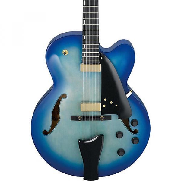 Ibanez AFC Contemporary Archtop Electric Guitar Jet Blue Burst