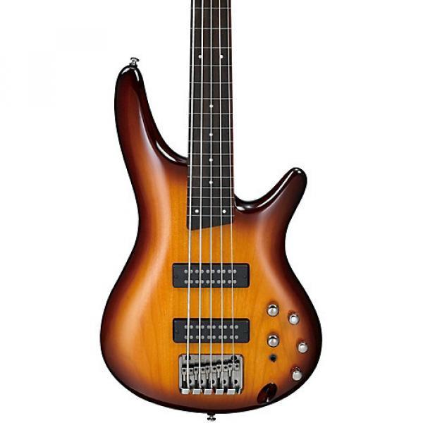 Ibanez SR375EF 5-String Fretless Electric Bass Brown Burst