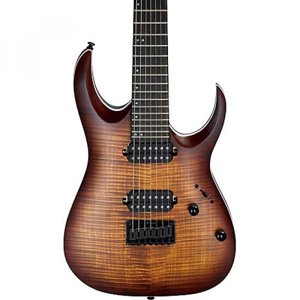 Ibanez RGA Series RGA742FM 7-String Electric Guitar Flat Dragon Eye Burst